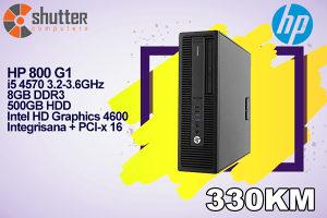 HP 800 G1 SFF - i5 4th Gen.