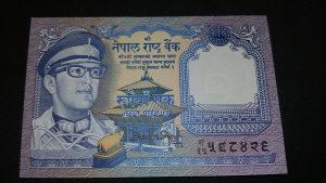 nepal 1 rupija 1974