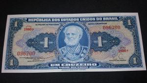 Brazil 1 kruzeiro 1953
