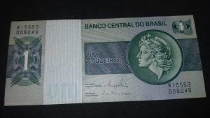 brazil 1 kruzeiro 1970