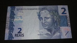 brazil 2 reala 2010 UNC