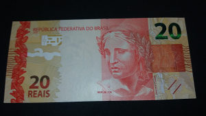brazil 20 reala 2010 UNC