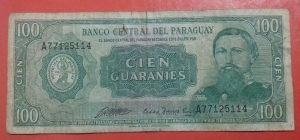 Paragvaj, 100 guaranies