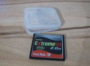 SanDisk CompactFlash CF 2GB memorijska kartica