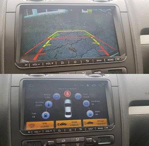 Multimedija navigacija 9 inch vw seat skoda