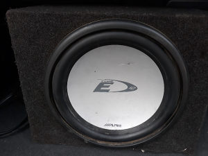Bass Kutija Type E Subwoofer Alpine 12ka