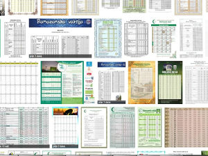 Ramazanske Vaktije - Vaktija A4 i A3