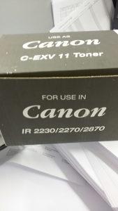 Toner canon C-EXV 11