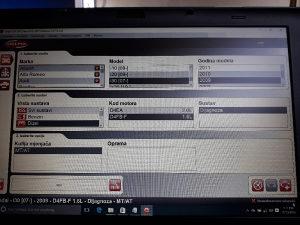 Dijagnostika Delphi + laptop
