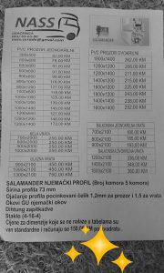 PVC STOLARIJA SALAMANDER AKCIJA 60 DANA