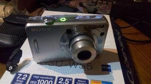 FOTOAPARAT DIGITALNI SONY DSC W55 + futrola