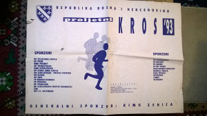 Ratni dokument - PLAKAT - POSTER RBiH 1993g - RIJETKO !