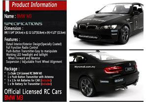 Auto na baterije BMW M3 na daljinski NOVO