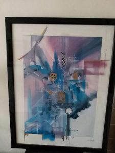 Umjetnicka slika 66x86 cm apstrskcija