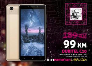 Oukitel C10 - 5 incha |1GB+8GB| 5+2 MP|Dual Sim|Androi