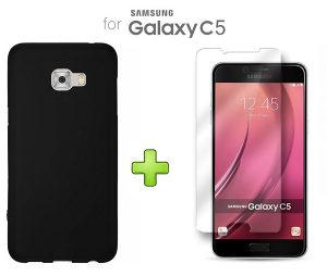 Maska i Staklo Za Samsung Galaxy C5