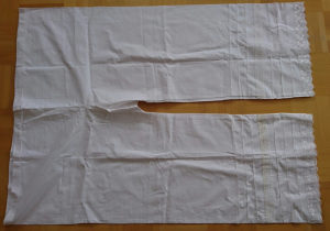 Narodna nosnja (zeske bijele sarvale hlače