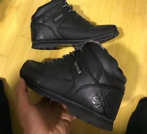 Cizme Zimske Timberland kozne 40 broj cipele