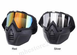 Ski maska+brile