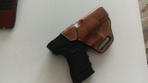 Futrola kozna pistolj glock 19 17