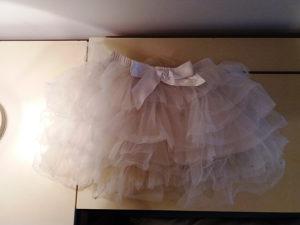 Suknjica za djevojcicee, bijela, velicina 104