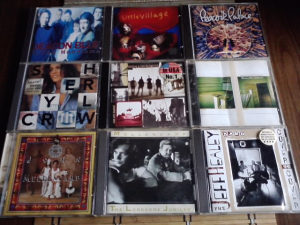 9 cd lot - mellencamp ,hootie and the blowfish