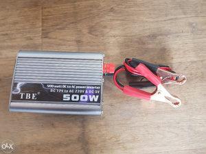 Pretvarac struje inverter 12/220 500w