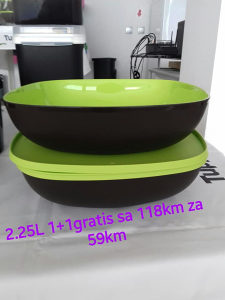 Tupperware Set Cetvrtasta Allegra (2)