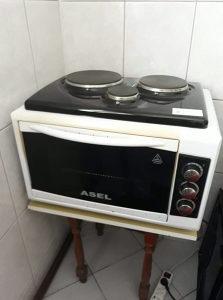 Električna pećnica.