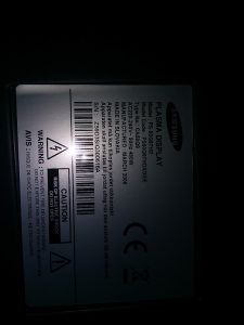 "Tv plasma 50"" Samsung"