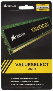 CORSAIR 2x 4GB DDR3 1333 Desktop CMV4GX3M1A1333C9