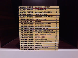 ALAN FORD STRIPAGENT LOT NOVO