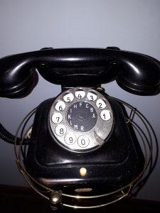 Raritet Telefon fiksni Nikola Tesla ispravan