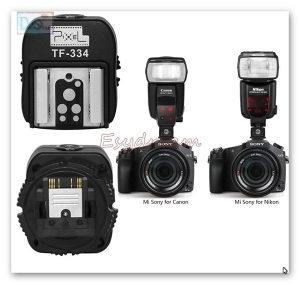 Pixel TF-334 SONY HotShoe za Nikon Canon blic TTL