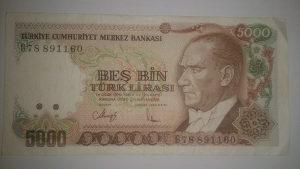 Novčanice Turska