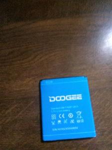 Doogee X5 baterija