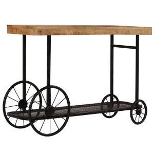 Konzolni stol od masivnog drva manga 115 x 36 x 76 cm