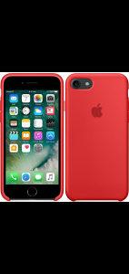 Maska silikon iphone 7/8  original red