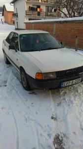 Audi 80 1.6dizel uraden veliki servis i mali nove zimsk
