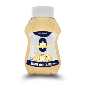 Preljev bez kalorija od bijele čokolade 350ml GymBeam