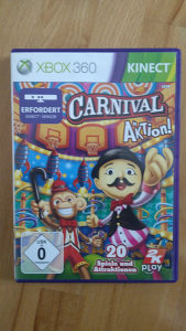 XBOX 360 KINECT CARNIVAL IN Action 062/325-468