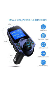USB Mp3 FM Modulator Transmiter Bluetooth za auto