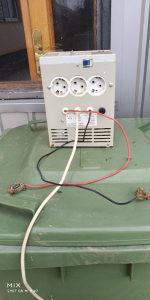 Pretvarac struje za centralno grijanje.