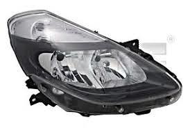 RENAULT CLIO -Far desni, Crni H7-H7 (2009-2012)