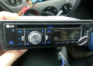Auto Radio LG USB-SD-AUX-CD 53wx4