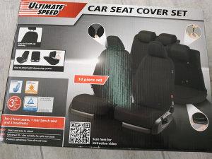 ULTIMATE SPEED navlake za auto, 5 sjedala, univerzalne