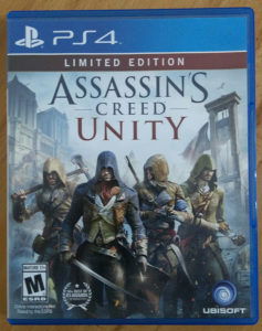 PS4 ASSASSINS CREED UNITY 062/325-468