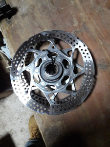 Shimano diskovi centerlock par
