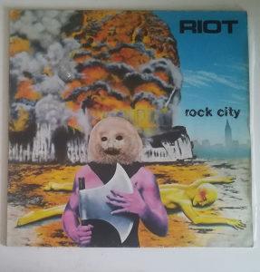 Riot - Rock City LP