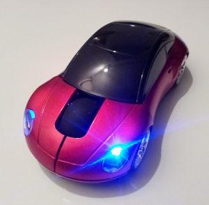 """Računarski miš, crveni auto Porsche, Wi Fi """"NOVO"""""""